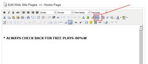 Access the HTML Editor